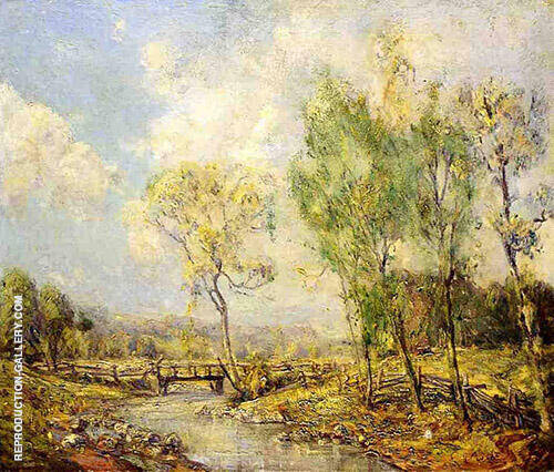 Country Landscape Painting By Guy Rose - Reproduction Gallery