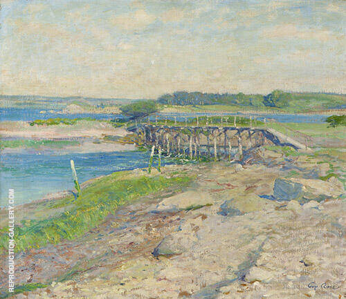 Duck Cove Wickford 1913 Painting By Guy Rose - Reproduction Gallery