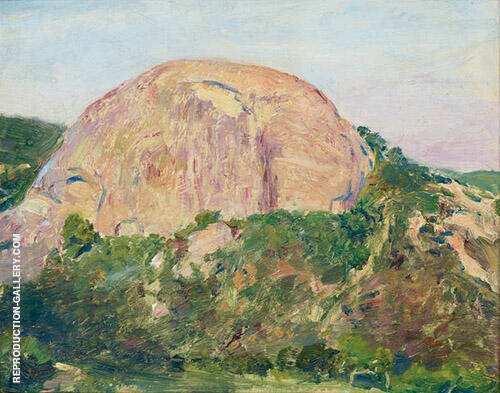 Eagle Rock Painting By Guy Rose - Reproduction Gallery