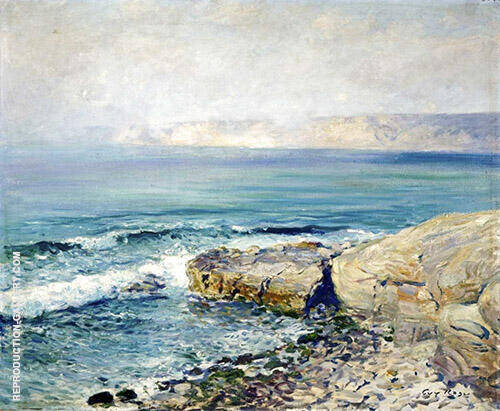 Incoming Fog La Jolla Painting By Guy Rose - Reproduction Gallery