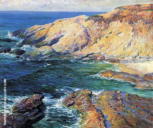 Incoming Tide 1917 Painting By Guy Rose - Reproduction Gallery
