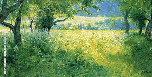 July Afternoon 1897 Painting By Guy Rose - Reproduction Gallery
