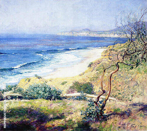 Laguna Shores 1916 Painting By Guy Rose - Reproduction Gallery