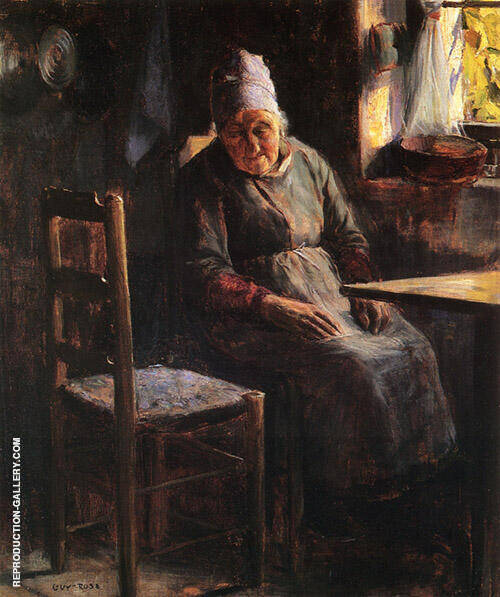 La Mere Pichaud 1890 Painting By Guy Rose - Reproduction Gallery