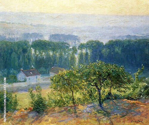 Late Afternoon Giverny 1905 Painting By Guy Rose - Reproduction Gallery