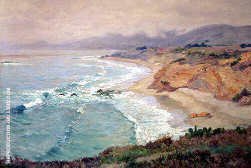 Lifting Fog Painting By Guy Rose - Reproduction Gallery