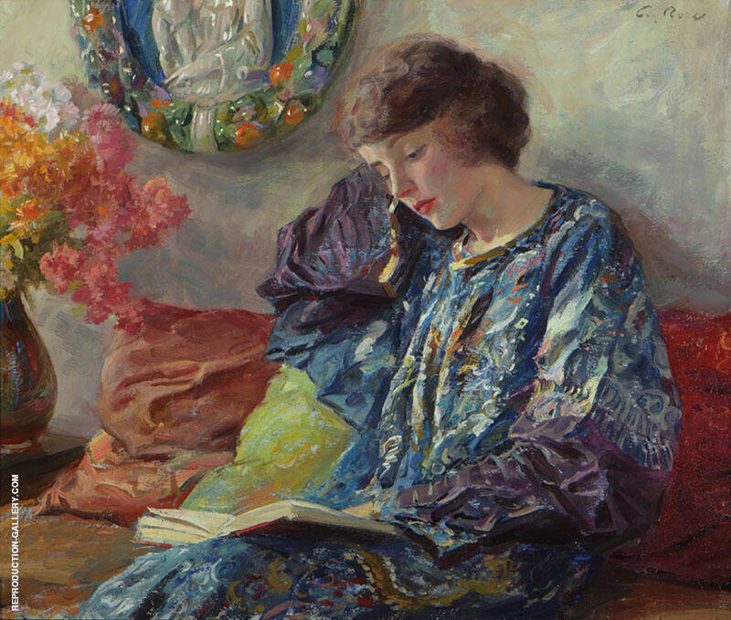 Marguerite 1900 By Guy Rose