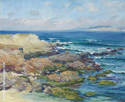 Martins Point Carmel Painting By Guy Rose - Reproduction Gallery