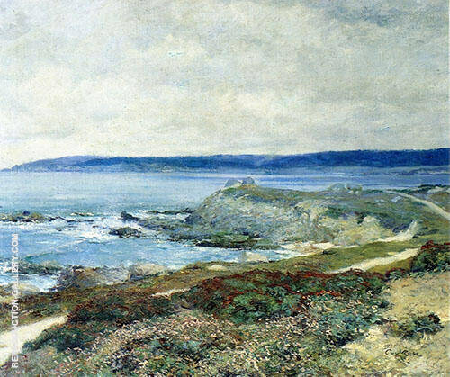 Mission Point 1919 Painting By Guy Rose - Reproduction Gallery