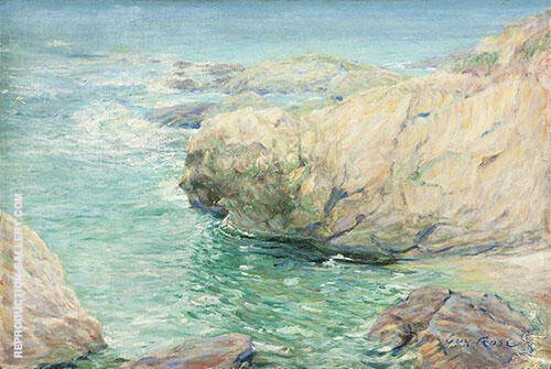 Monterey California 1918 Painting By Guy Rose - Reproduction Gallery