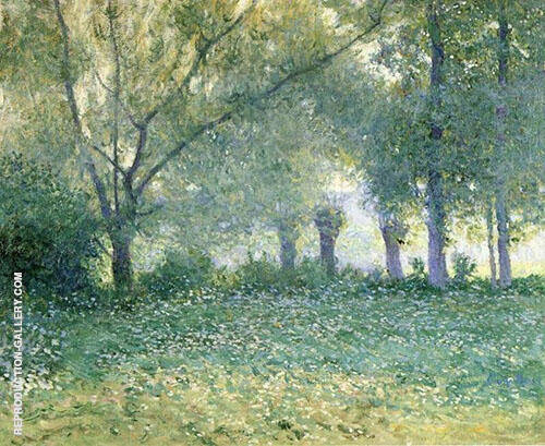 Morning Mist Painting By Guy Rose - Reproduction Gallery