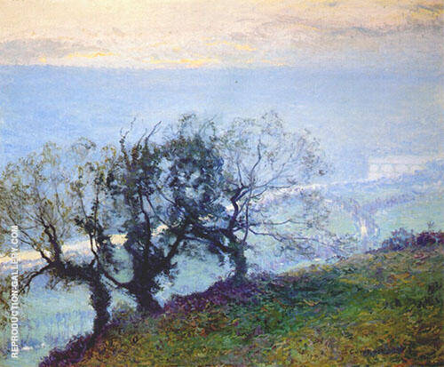 November Twilight 1908 Painting By Guy Rose - Reproduction Gallery