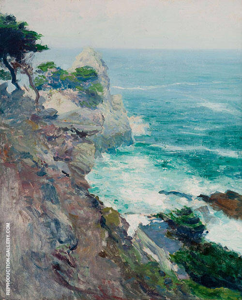 Out to Sea Point Lobos Painting By Guy Rose - Reproduction Gallery