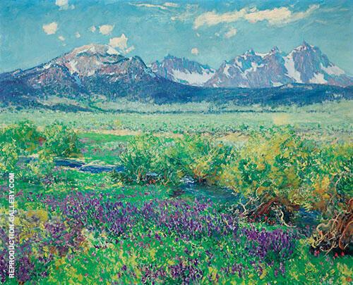 Owens River Sierra Nevada California Painting By Guy Rose