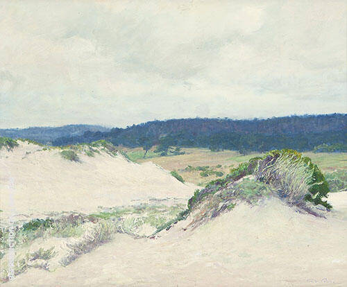 Sand Dunes 1918 Painting By Guy Rose - Reproduction Gallery