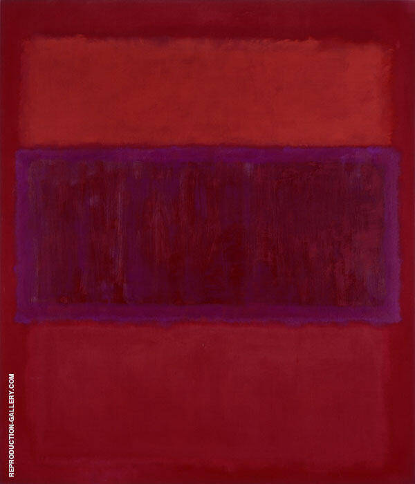 Untitled 1957 MF Painting By Mark Rothko - Reproduction Gallery