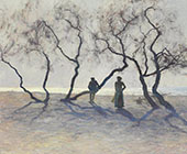 Tamarisk Trees Southern France By Guy Rose