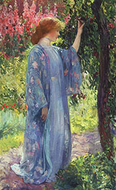 The Blue Kimono 1909 By Guy Rose