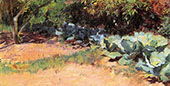 The Cabbage Patch 1891 By Guy Rose