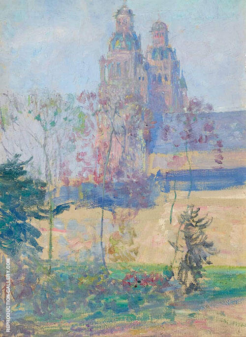 The Cathedral Tours By Guy Rose