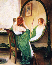The Green Mirror 1911 By Guy Rose