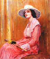 The Model 1919 By Guy Rose