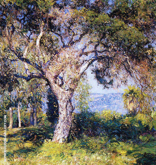 The Oak 1916 By Guy Rose