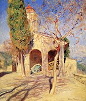 The Old Church at Cagnes By Guy Rose