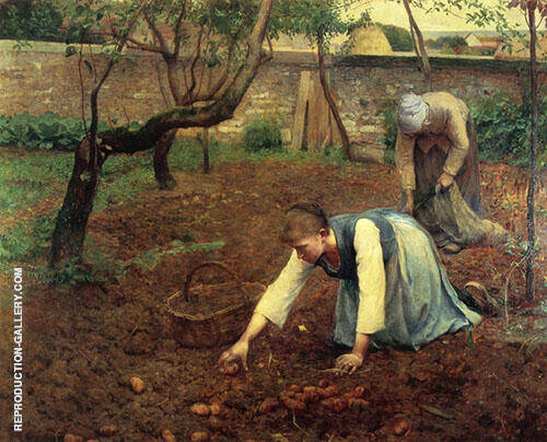 The Potato Gatherers 1891 By Guy Rose