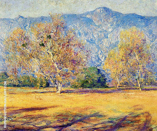 The Sycamores Pasadena 1918 By Guy Rose