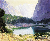 Twin Lakes Eastern Sierras Near Bridgeport 1919 By Guy Rose