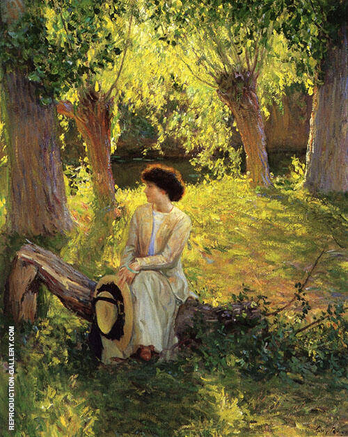 Warm Afternoon 1910 By Guy Rose