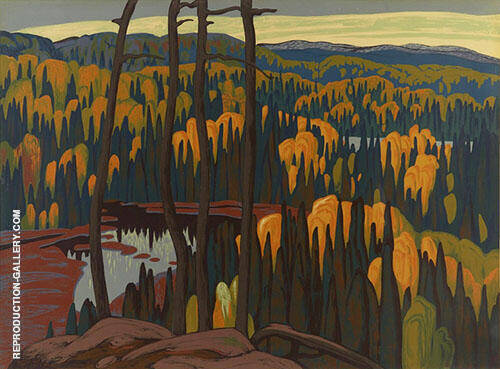 Algoma Country By Lawren Harris