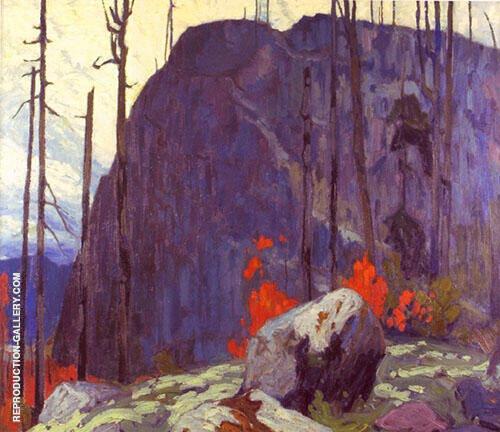 Algoma Hill 1920 By Lawren Harris