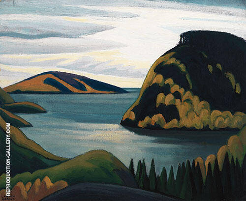 Coldwell Lake Superior Lake Superior Sketch xxii 1924 Painting By ...