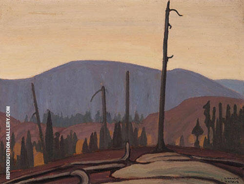 Country North of Lake Superior 1921 By Lawren Harris