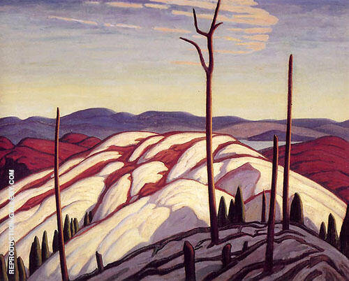First Snow North Shore of Lake Superior By Lawren Harris