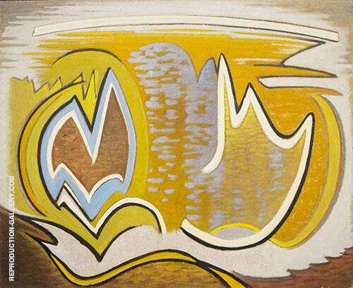 Abstract 1958 By Lawren Harris