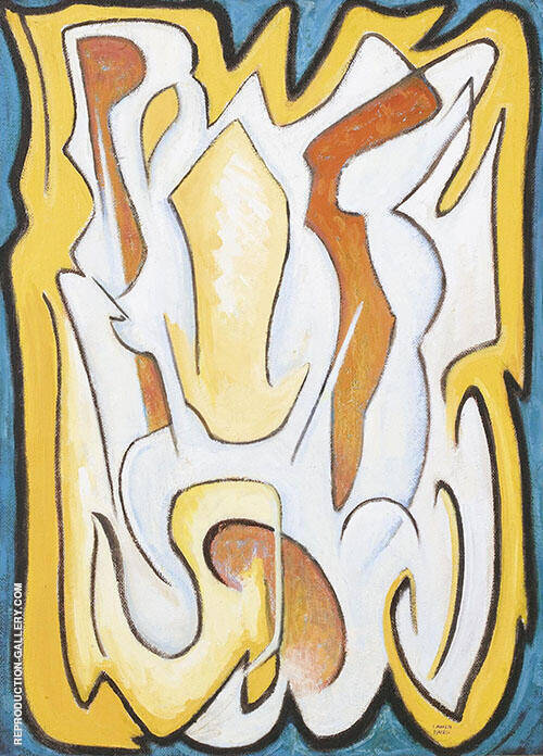 Abstract Composition 1958 By Lawren Harris