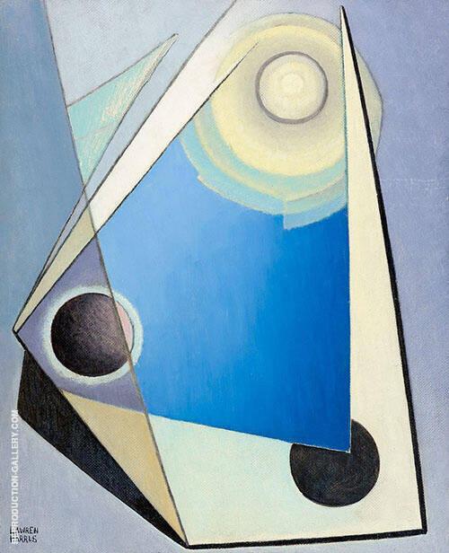Abstract Sketch in oil 41 1934 By Lawren Harris