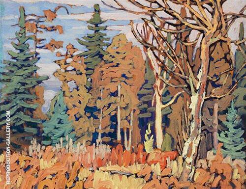 Algoma Woods I 1918 By Lawren Harris