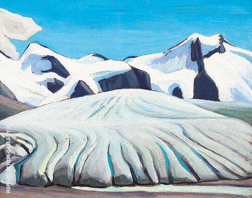 Arctic Sketch xxii Painting By Lawren Harris - Reproduction Gallery
