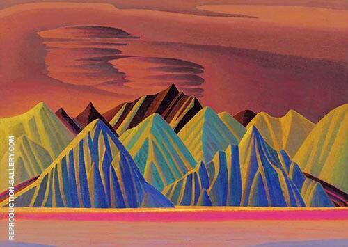 Bylot Island 1930 By Lawren Harris
