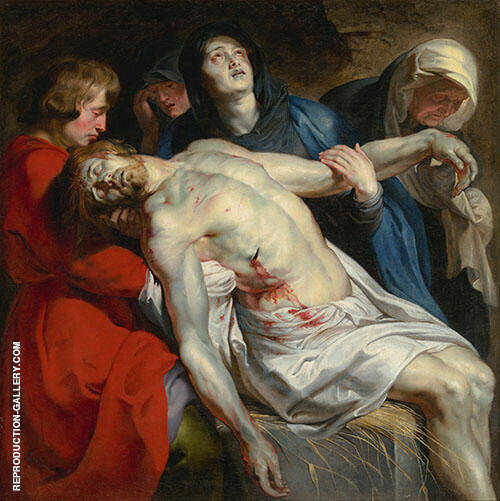 The Entombment c1612 Painting By Peter Paul Rubens - Reproduction Gallery