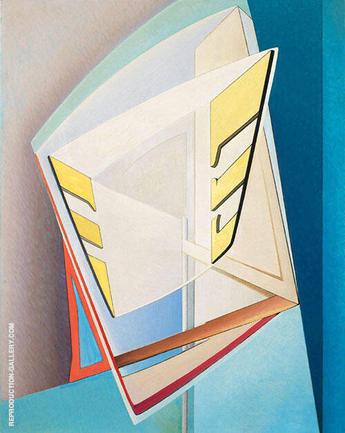 Composition 10 1937 Painting By Lawren Harris - Reproduction Gallery