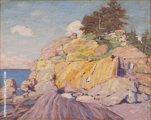 Georgian Bay 1916 By Lawren Harris