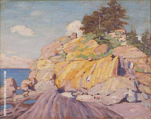 Georgian Bay 1916 Painting By Lawren Harris - Reproduction Gallery