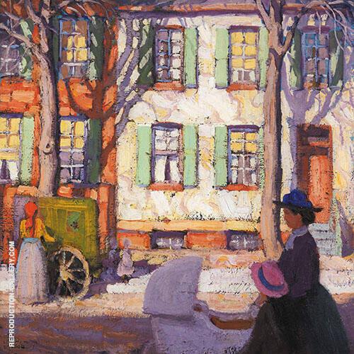 Hurdy Gurdy 1913 By Lawren Harris