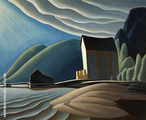 Ice House Coldwell Lake Superior 1923 By Lawren Harris