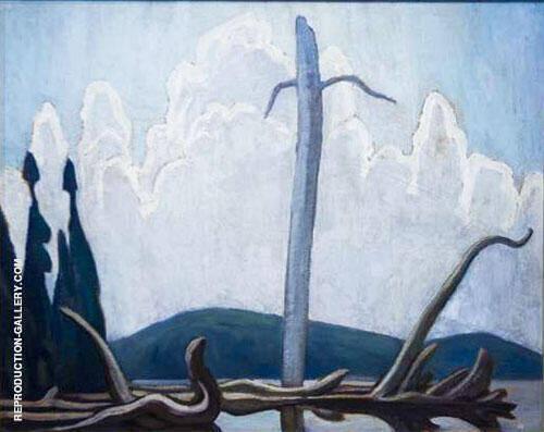 Joe Lake Algonquin Park 1920 Painting By Lawren Harris